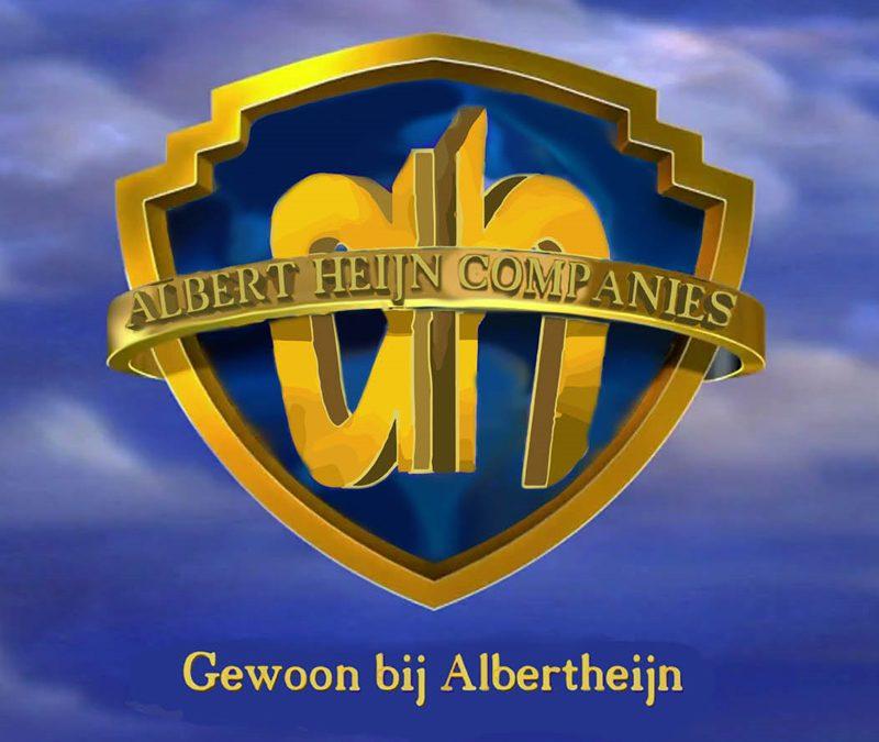 Logo Mashup Albert Heijn Warner Bros