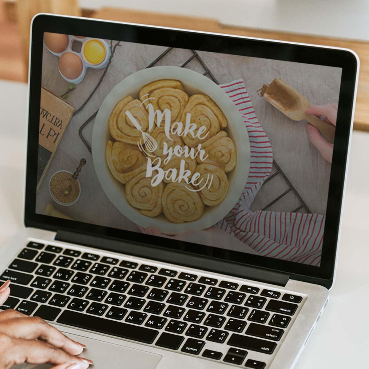 Make Your bake webblog online marketing