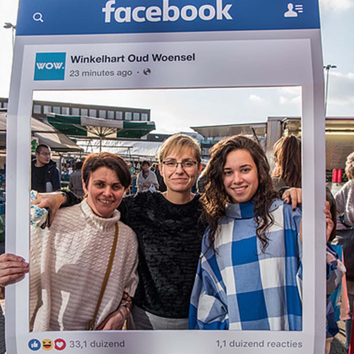 Winkelhart Oud Woensel fotoactie centrum WOW